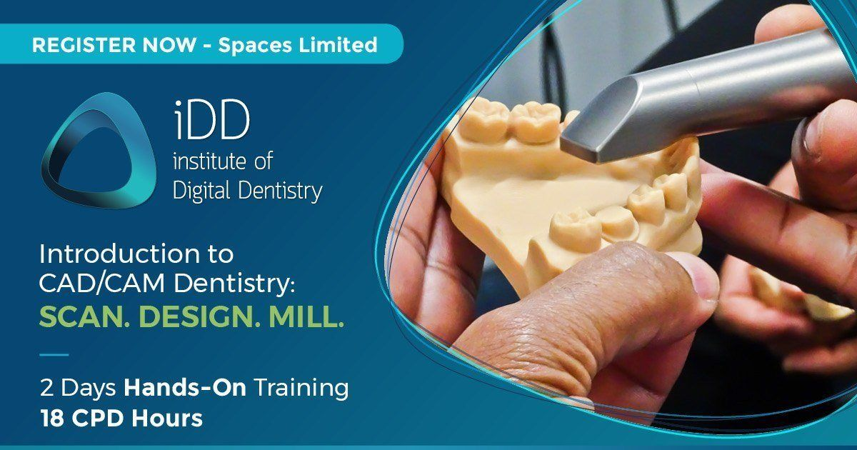 Introduction To CAD/CAM Dentistry: Scan, Design, Mill