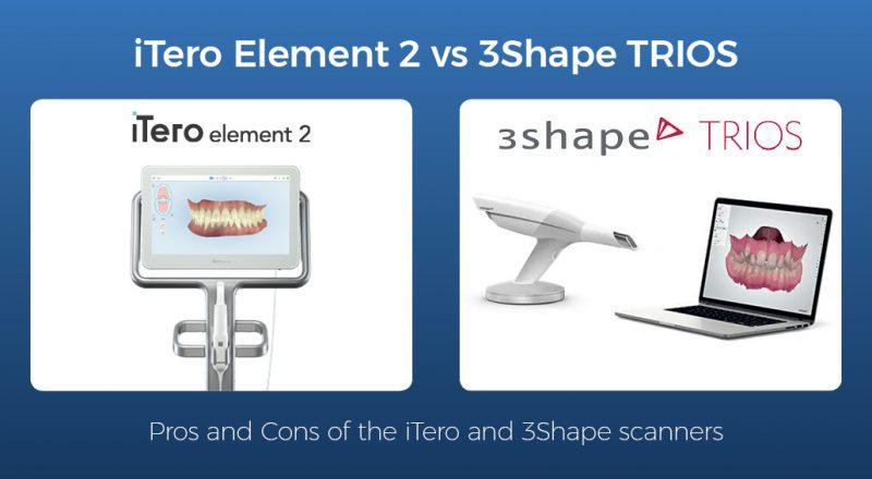 iTero Element 2 Scanner vs 3Shape TRIOS Scanner - Institute