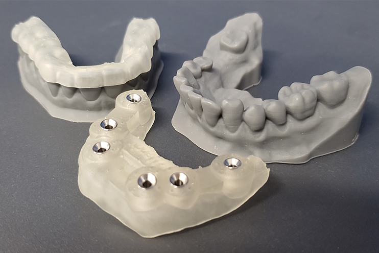 3D Printing in dentistry full arch models, surgical guide and night guard institute of digital dentistry