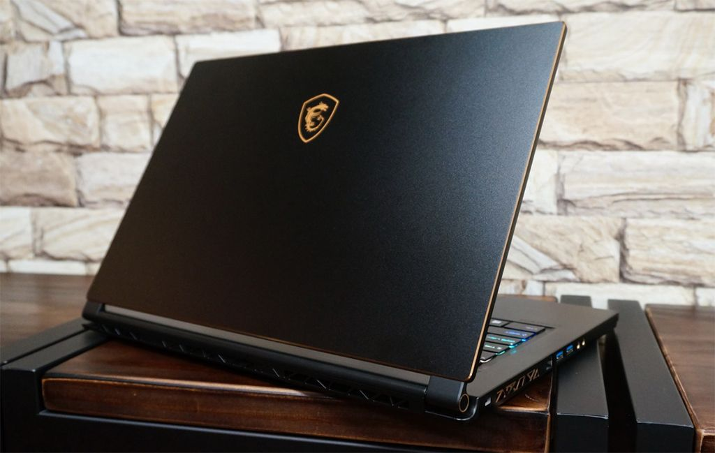 MSI GS65 Stealth computer included with WOW IOS
